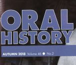 Our Department Featured in The Journal of the Oral History Society